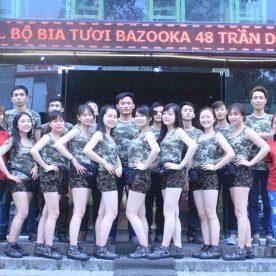 Nhà hàng Thế Giới Bia Bazooka Nhà hàng Maison