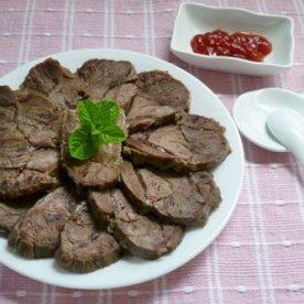 Cách làm món bắp bò luộc chấm nước mắm ớt ngon khó cưỡng