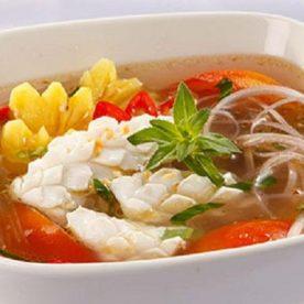 Canh chua hải sản thanh nhiệt