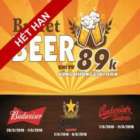 Buffet Bia Chỉ từ 89K
