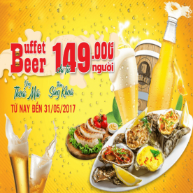 Buffet Bia: Uống Thả Ga