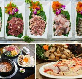 Một lần trải nghiệm tiệc buffet nhà hàng Vườn Bia Hà Nội