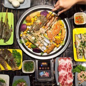 Thực đơn Lẩu Hơi 2 Tầng nhà hàng Vườn Bia Hà Nội