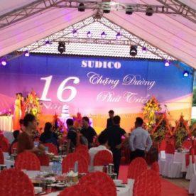 Nhà hàng Lã Vọng tổ chức thành công tiệc lưu động kỷ niệm 16 năm thành lập công ty SUDICO