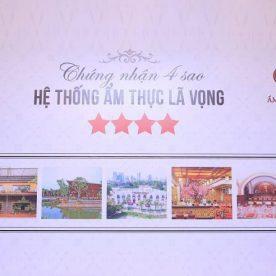 Các nhà hàng Lã Vọng nhận Chứng Nhận 4 Sao từ Foody.vn