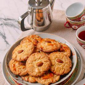 Cách làm bánh quy hạnh nhân đãi khách đầu năm 2