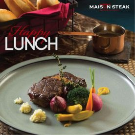Set lunch Maison Steak