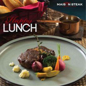 Set lunch Maison Steak