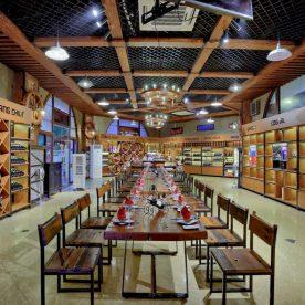 Nhà hàng Vườn Bia mang phong cách viễn tây phóng khoáng mà vẫn sang trọng