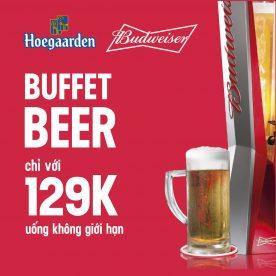 Buffet Bia Tươi 129k Nhà hàng Maison
