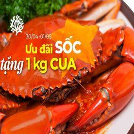 Ưu đãi tặng 1 kg cua tại nhà hàng hải sản San Hô Đỏ Nguyễn Thị Thập, Hà Nội 2