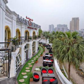 Maison Teak - Nhà hàng nổi tiếng ở Hà Nội có không gian đẹp