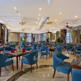 Không gian tầng 1 tại nhà hàng lớn tại Hà Nội