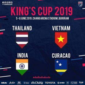 Các đội tham dự King's Cup 2019