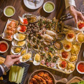 Nhà hàng ăn ngon ở Hoàng Đạo Thuý Hà Nội - Nhà hàng hải sản San Hô ĐỎ