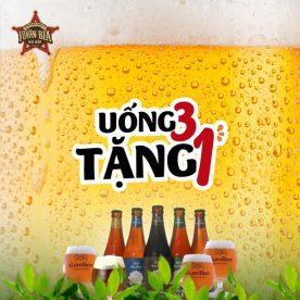 Uống 3 tặng 1 Craft Beer EuroBeer tại Vườn Bia Hà Nội 10