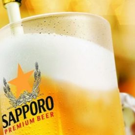 Uống 3 tặng 1 Sapporo tại Vườn Bia Hà Nội từ 26/6/2019