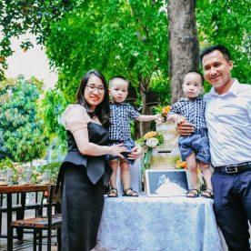 Đi ăn mừng ngày của cha, ngày gia đình tại Vườn Bia Hà Nội