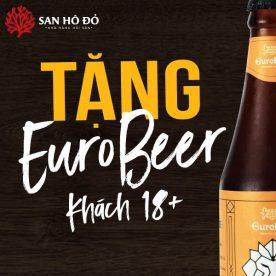 Tặng bia chai EuroBeer tại hải sản San Hô Đỏ 5