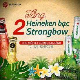Tặng Heineken + Strongbow tại nhà hàng hải sản San Hô Đỏ