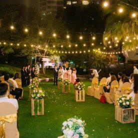 Những ý tưởng đặt tiệc cưới ngoài trời tại nhà hàng sân vườn