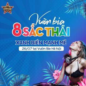 Vườn Bia 8 Sắc Thái Xanh Biển (26/7/2019)