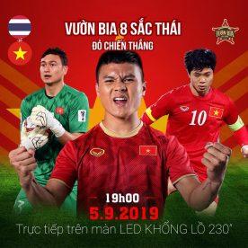 Xem vòng loại World Cup Việt Nam - Thái Lan và uống bia 2