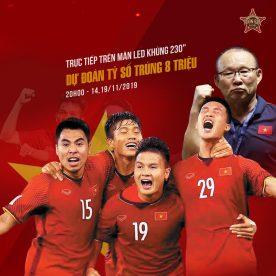Xem bóng Việt Nam đấu UAE tháng 11