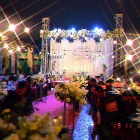 Trang trí Tiệc Cưới Sân Thượng đẹp mắt tại Maison (Hoàng Cầu)