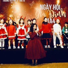 Tiệc Noel Lớp 1A - Trường tiểu học Lí Thái Tổ Tại Vườn Bia Hà Nội 3