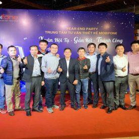 Year End Party Mobifone tại Vườn Bia Hà Nội (27/12/2019)